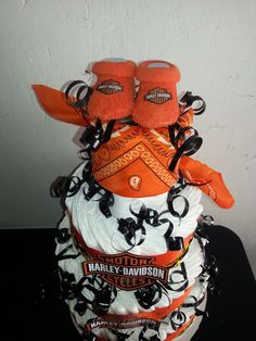 Captivating Harley Davidson Diaper Cake Motorcycle. $75.00, Via Etsy. #babyshower  #diapercake | Diaper Cakes | Pinterest | Diapers, Baby Showers And Baby  Gifts