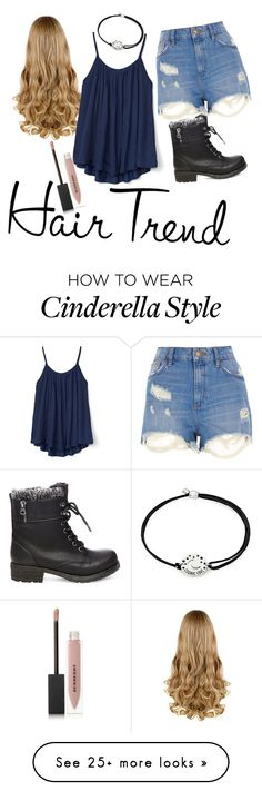 """""""hair trend"""" by cjflynn on Polyvore featuring Alex and Ani, Steve Madden, River Island, Gap, Burberry, hairtrend and rainbowhair"""