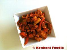 Konkani Foodie: Mixed Vegetable Pickle (without Oil) - Konkani style