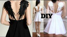 DIY Gothic Angel Wing Dress + Pattern   Recreating Fashion DIY - YouTube