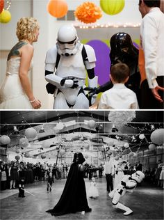 Midwest Star Wars wedding from One Tree Photo+Cinema
