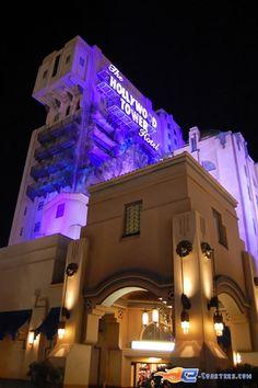 18/18 | Photo de l'attraction Hollywood Tower Hotel (Tower Of Terror) située à @Christine Peck Hardy Paris (France). Plus d'information sur notre site www.e-coasters.com !! Tous les meilleurs Parcs d'Attractions sur un seul site web !!
