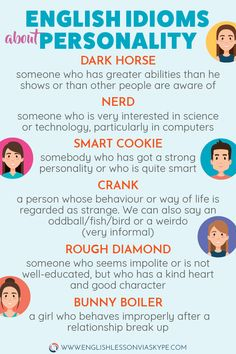 30 English Idioms about Character and Personality Useful English expressions to use in an English conversation. Improve English vocabulary and speak fluent English. Speak Fluent English, Learn English Grammar, English Writing Skills, English Vocabulary Words, English Phrases, Learn English Words, English Language Learning, English Lessons, Teaching English