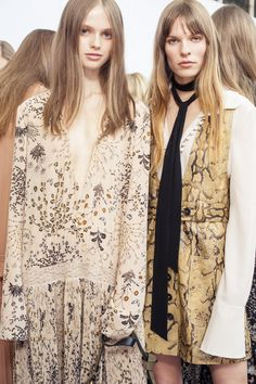 The Chloé Fall-Winter 2015 collection captures the heightened, worldly elegance of the Chloé girl