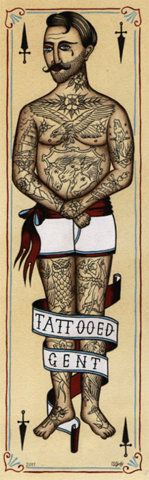 tattooed gent.