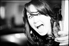 Christina  December 30, 2011  Canon A2  Party time.