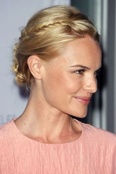 7 braided hairstyle ideas to borrow from Kate Bosworth.