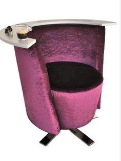 Hand-picked by our design team: Stega® | Café Chair von Erlacher Polster Eine Kaffeekapsel zum «besitzen» Ein Sessel wie geboren für den Einsatz im Café, Tea-Room, Re- staurant oder Bar. Der Sessel stellt natürlich auch für zu Hause eine originelle Sitzgelegenheit dar und nimmt Sie bequem in der «Kaffeekapsel-Sitz- mulde» auf. Jetzt fehlt nur noch der Espresso. #interiordesign #architecture #interior #decor #homedecor #interiors #furniture #creative #homedesign #lifestyle #design #pink Home Design, Cafe Chairs, Interior S, Egg Chair, Creative, Interiordesign, Furniture, Espresso, Home Decor