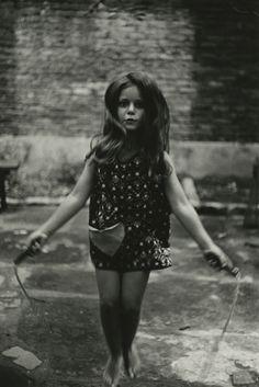 Diane Arbus. Barefoot Child Jumping Rope 1963 NYC