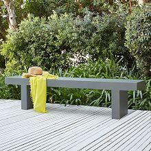 ultra lightweight fiber concrete outdoor table bench