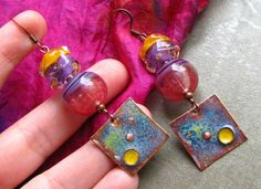 Whimsical Funky Unique lightweight Artisan Made by BeYouBeautiful