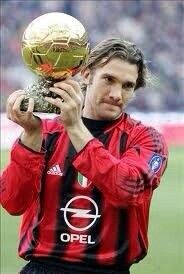 Shevchenko's Ballon d'or of 2004