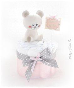 Mini gateau de couches Josephine cake - Cadeau de naissance