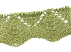 DROPS Knitting Tutorial: How to work lace pattern after chart A.1 in DRO...