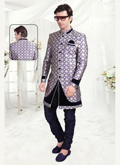 Sherwani Ethnic Wedding Readymade Indian Mens Dress Indostyle Designer Bollywood #kriyacreation