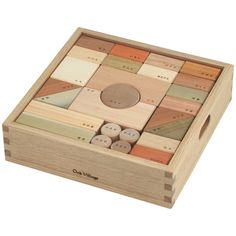 oak village | building blocks