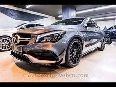 Mercedes CLA 45 AMG 4M Coupe | 381 c.v | Performance | Gris Montaña | Mod. 2017 | Auto Exclusive BCN | Concesionario Ocasión Mercedes-Benz Barcelona | http://autoexclusivebcn.com