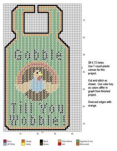 Plastic Canvas Ornaments, Plastic Canvas Tissue Boxes, Plastic Canvas Christmas, Plastic Canvas Crafts, Plastic Canvas Patterns, Crochet Skull Patterns, Afghan Crochet Patterns, Cross Stitch Patterns, Doorknob Hangers