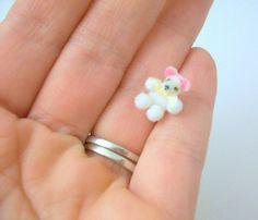 Miniature Teddy Bears Dollhouse Teddy Bears by MustardDandelion