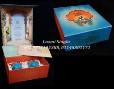 Gift packing material by Laxmi Singla Marriage Invitation Wordings, Wedding Invitation Wording, Wedding Card Design, Wedding Cards, Boxes, Packing, App, Gifts, Wedding Ecards