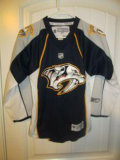 1a55fb41a92 Nashville Predators hockey jersey - Reebok youth small / medium #Reebok  #NashvillePredators