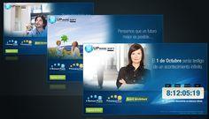 UPware Soft, campaña de expectativa, diseño y desarrollo de landing.
