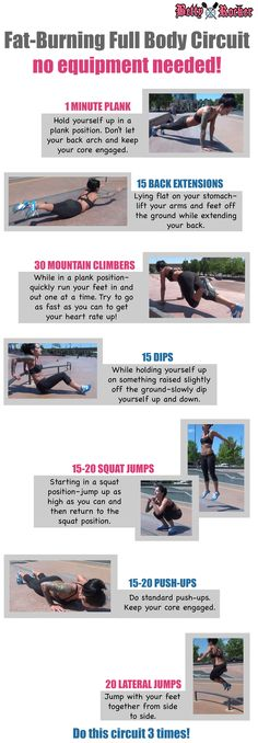 Try this fat-burning full-body circuit that I filmed in Denver's famous skate park - proving you can do a killer workout ANYWHERE!   Click the pin to watch it the video demo, and REPIN if you're doing it!   (To print this card, simply right click and save it to your computer so you can print it out!)