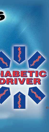 Diabetic Driver Car Decal