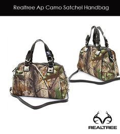 Realtree APG Camo Satchel Handbag - Just Arrived!
