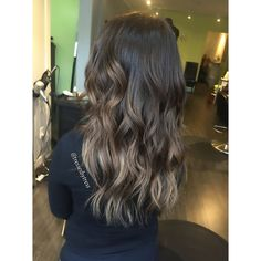 Ash brown balayage                                                                                                                                                      More