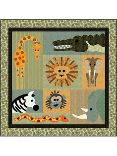 New Quilt Patterns - Jungle Boogie Quilt Pattern