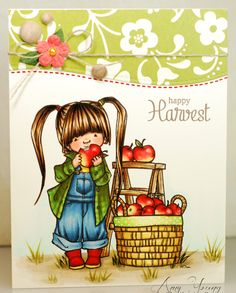 Good morning!   How adorable is this little apple pickin' sweetie? Seriously, as soon as I saw Apple  over at Mo's Digital Pencil  on Friday...