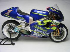 Kenny Roberts Jr Telefonica Movie Star Suzuki RGV500