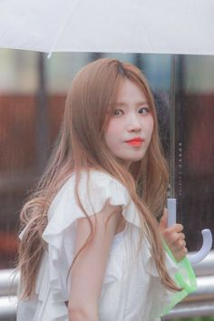 fromis_9 - Hayoung 190726 Music Bank Kpop Girl Groups, Korean Girl Groups, Kpop Girls, 9 Songs, Ikon, South Korean Girls, Celebrities, Cute, Beauty