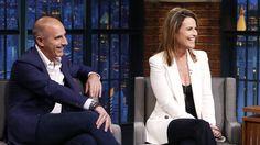'She's an adorable little girl': Matt and Savannah talk Vale on 'Late Night'