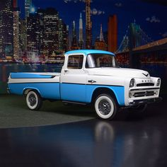 PALM BEACH AUCTION PREVIEW: Clean as a whistle. This gorgeous 1957 Dodge D-100 Sweptside is only one of 1,050 produced. 314.6ci 8-cylinder engine and automatic transmission. Voted First Place at National Mopar Show in June 2012.