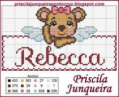 Priscila Junqueira Ponto Cruz: Ursinha Anjinho