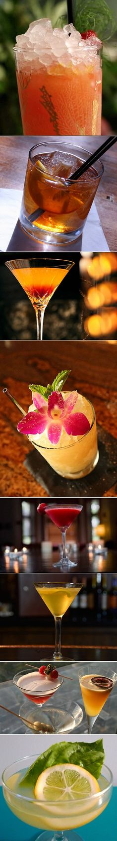 10 Famous Bartender Recipes