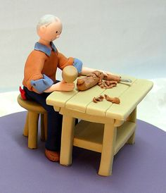 Carpenter Cake Tool Cake, Carpenter, Pastel, Construction, Woodworking, Sweets, Cakes, Tarts, Building