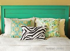 Make this great headboard Tutorial.  AND 45 BEST Weekend Lifestyle DIY Tutorials EVER. DECOR, FURNITURE, JEWELRY, FOOD, WHIMSEY, PARTY from MrsPollyRogers.com