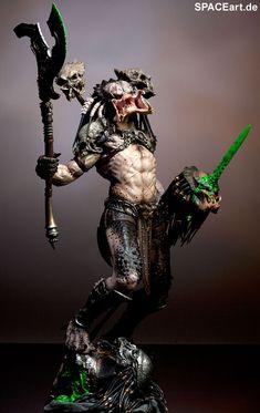 Predator: Bad Blood - Deluxe Statue Fertig-Modell Limitierte Auflage: 1500 Hersteller: Sideshow Material: Kunstharz Größe: 1/5 (47 cm) Bestell-Nr.: PR026