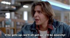 John made you laugh. During the entire movie. | 18 Reasons You Had A Crush On John Bender From The Breakfast Club