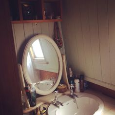 My narrowboat bathroom :)