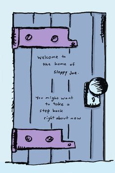 Take A Step Back, Take That, Sloppy Joe, Comics, Cartoons, Comic, Comics And Cartoons, Comic Books, Comic Book