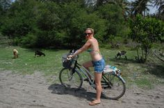 Rent a bike and cycle around the Gili Islands Indonesia