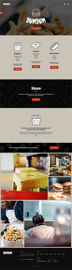 YumYum is clean and modern design responsive #WordPress theme for stunning #restaurant, #cafe and food business website download now..