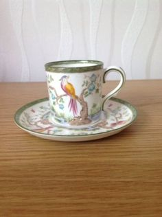 Adderley 'sado' #coffee cup & #saucer, #excellent antique condition,  View more on the LINK: http://www.zeppy.io/product/gb/2/232211320346/