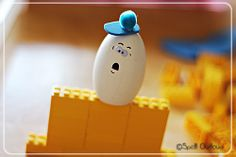 Nursery Rhyme Time: Humpty Dumpty craft @SpellOutloud #ece #teachpreschool