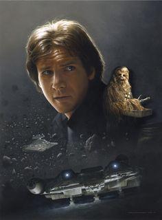 Star Wars - Spotlight Of The Week - Han Solo (art by Jerry...