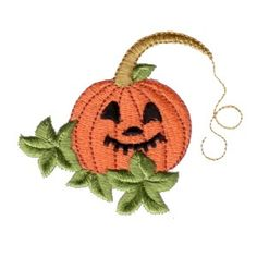free halloween machine embroidery design pumpkin with carved face art pes hus jef dst exp needle passion embroidery npe needlepassion